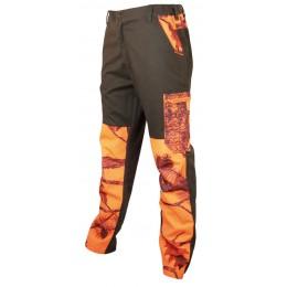 T582 - Pantalon Treeland camo orange