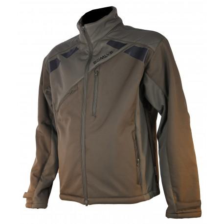 420 - Green sherpa softshell jacket