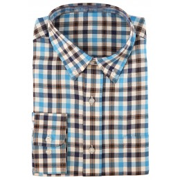 512- Blue check shirt