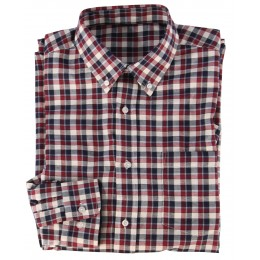 510 - Red check Shirt