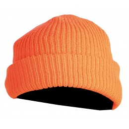 T2410 - Bonnet orange tricot