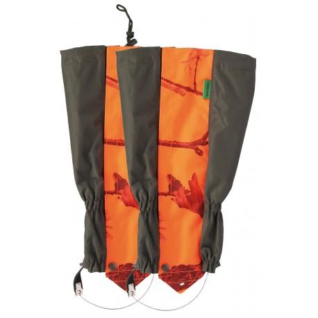 T755 - Guêtres camouflage Forest/camo orange