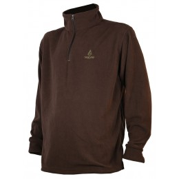 T297N - SWEAT POLAIRE MARRON