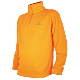 T298 - SWEAT POLAIRE ORANGE