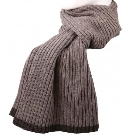 2475 - écharpe tricoté laine