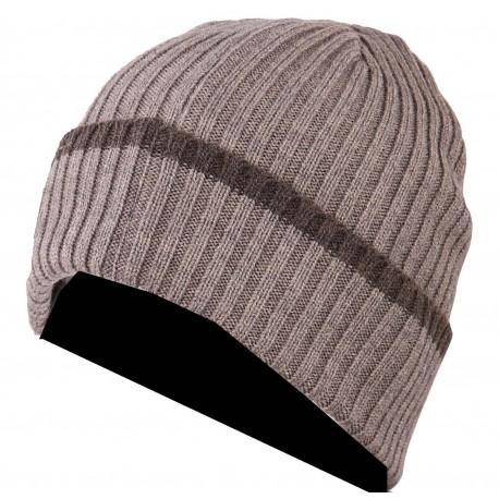 2474 - Bonnet + écharpe tricoté laine