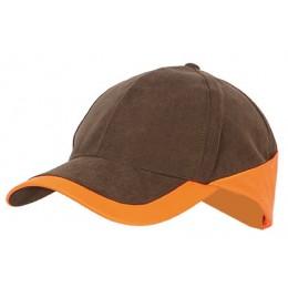 908 - Casquette légère marron/orange