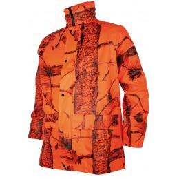 T425K - Veste de pluie enfant camo orange