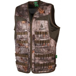 T606 - Gilet multitubes camouflage forest