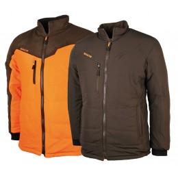 435 - Blouson Thermo-Hunt orange/marron