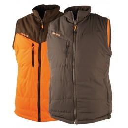417 - Giler réversible Thermo-Hunt orange/marron