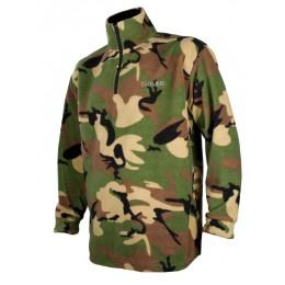 T296K - Sweat polaire enfant camouflage CE