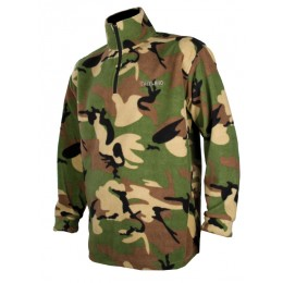 T296 - Sweat polaire camouflage