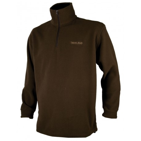 T297 - Sweat polaire marron