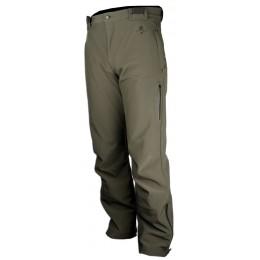500 - Pantalon chaud softshell vert