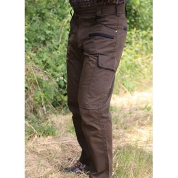636 - Pantalon bicolore wax