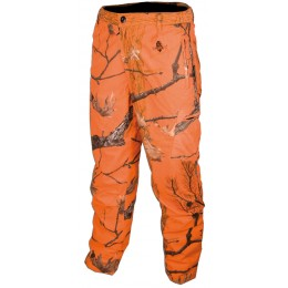 649 - Pantalon huntershell orange matelassé