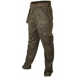 T650 - Pantalon Polyester coton vert