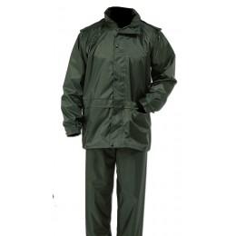 856 - Ensemble de pluie vert