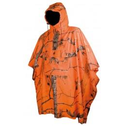 841 - Poncho orange polytricot