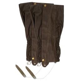 790 - Guêtres Chambord façon cuir