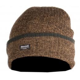 2465 - Bonnet marron chiné