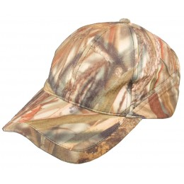 907W - Casquette baseball camouflage roseaux