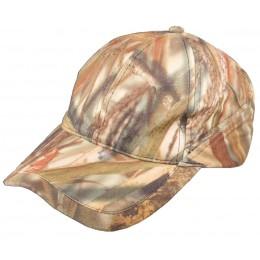 907W - Casquette baseball camouflage roseaux