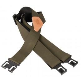 177V - Bretelles vertes accroche ceinture