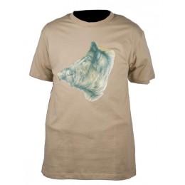 033S - Tee-shirt sanglier