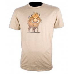 052S - Tee shirt sanglier BD
