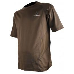 30 - tee shirt coton marron