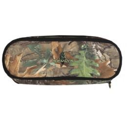 6306PMC - Etui lunette camouflage kaki petit modèle