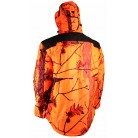 471N - Veste matelassée camouflage orange