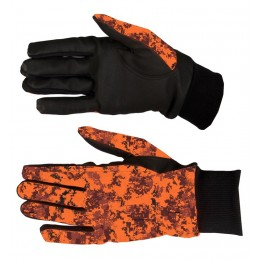 819 - Gants camouflage pixel orange