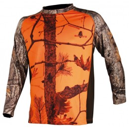034 - Tee-shirt camouflage orange ML