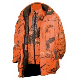 471 - Veste chaude 3 en 1 camouflage orange Fire G2