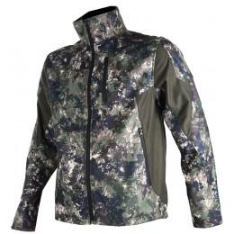 406 - Gaccia softshell camouflage pixel verde