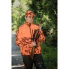 407 - Blouson softshell camo pixel orange