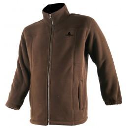480 - Blouson polaire marron