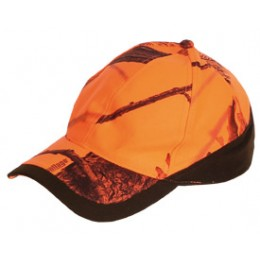 906 - Casquette camouflage orange