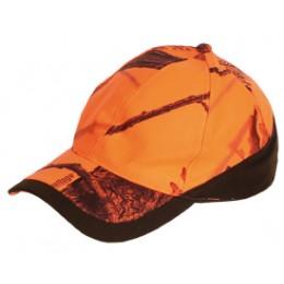 906K - Casquette camouflage orange enfant