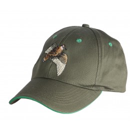 T1902 - Embroidered cap woodcock