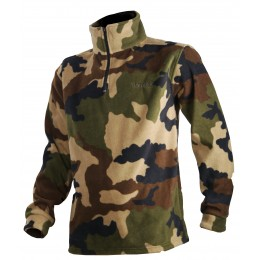 T296CEK - Fleece sweatshirt camo CE for kids