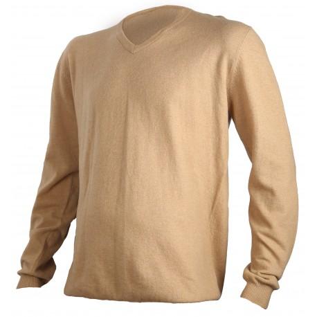 130 - Pull beige