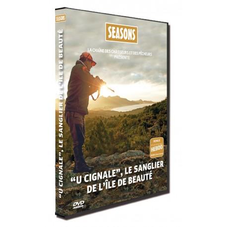 SEA266 - DVD U CIGNALE, LE SANGLIER DE L'ILE DE BEAUTE