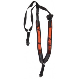 1134 - Bretelle harnais neoprene camo orange