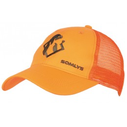 920 - Casquette maille orange