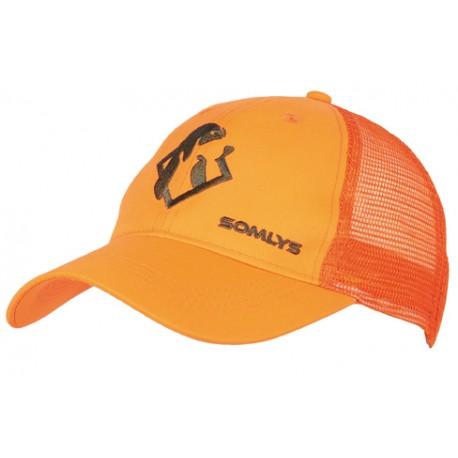 920 - Summer orange cap