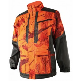 457- Veste traque camouflage orange